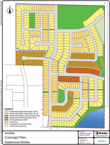 Malibu Communities - Hazelwood Estates plan